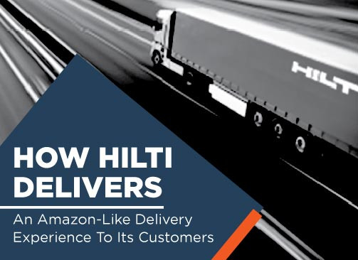 How Hilti Delivers An Amazon Like Delivery Experience In The B2B World