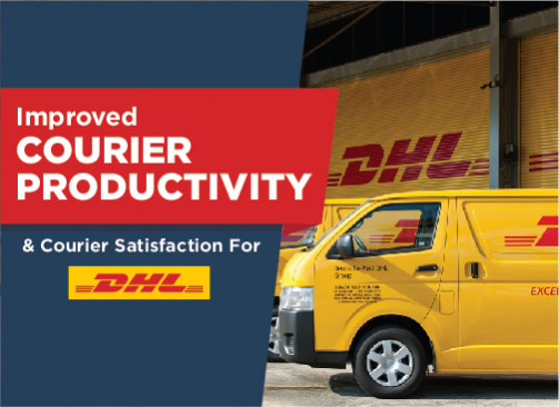 DHL Doubles Courier Satisfaction And Increases Courier Productivity By 15%