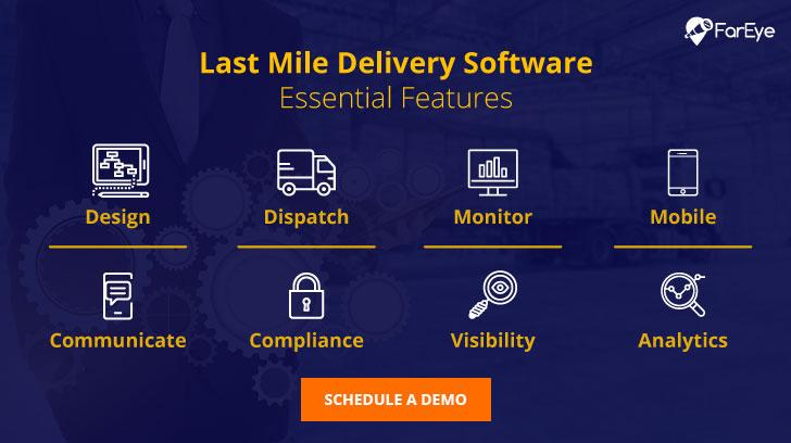 Last mile delivery software essential features